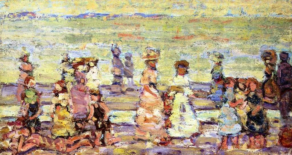Maine Beach, ca. 1913. Private collection.