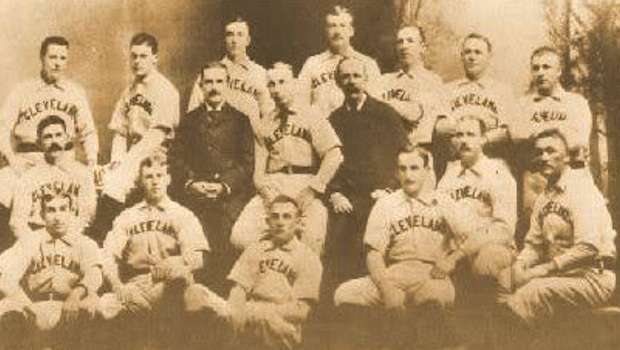 The 1899 Spiders, worst team ever in baseball. Sockalexis wasn't good enough for them.