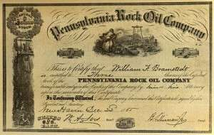 history of petroleum pennsylvania rock oil