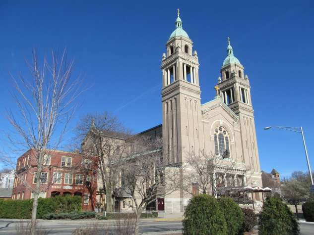 St. Ann's Church complex, Woonsocket.