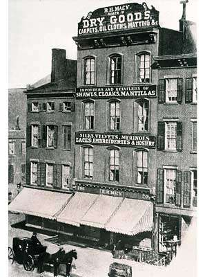 The first successful Macy's