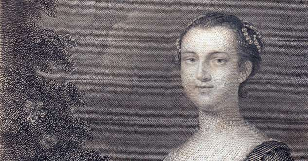 Martha Washington in her younger days
