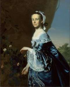 Mercy Otis Warren by John Singleton Copley. Courtesy Boston Museum of Fine Arts.