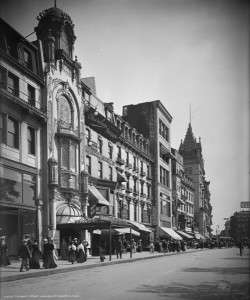 Keith's Theatre, Tremont Street entrance in Boston, 1906. Photo courtesy Library of Congress.