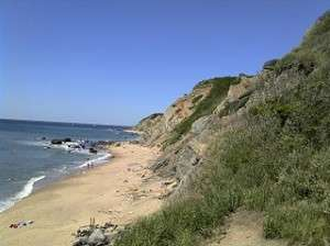 Northern part of Block Island