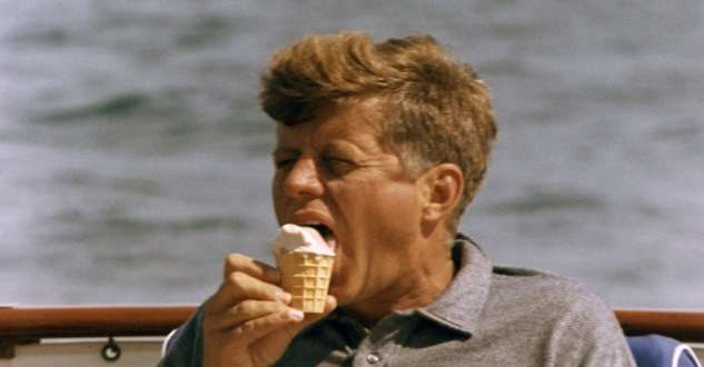 John F. Kennedy. Photo courtesy John F. Kennedy Library and Museum.