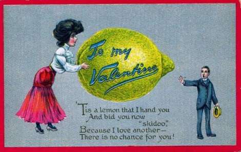 vinegar valentine lemon