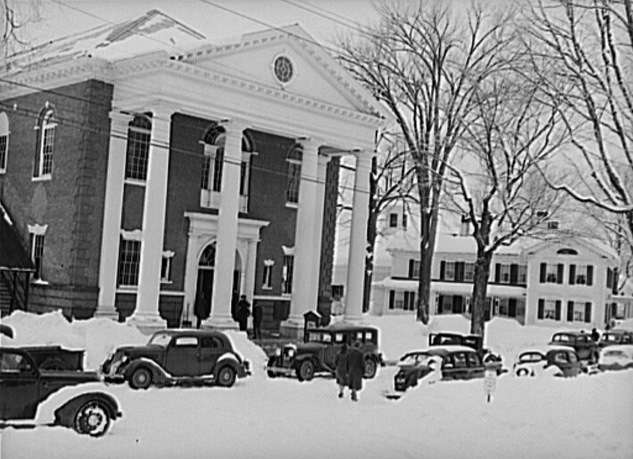 Town Meeting, Woodstock, Vt., 1940. Photo courtesy Library of Congress.