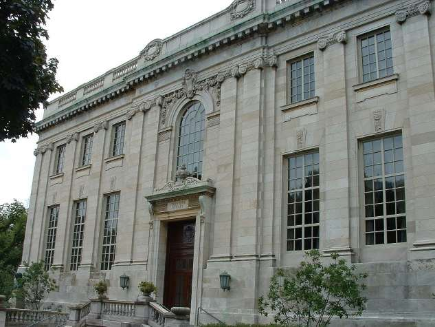 The John Hay Carnegie library at Brown University in Providence