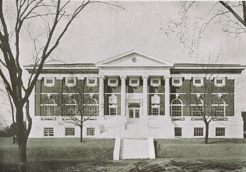 The Carnegie Library at Tufts.