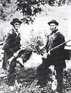 Canadian Home Guardsmen defending Canade from the Fenians, 1870.