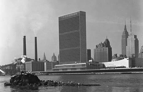 UN headquarters. Photo courtesy Library of Congress.
