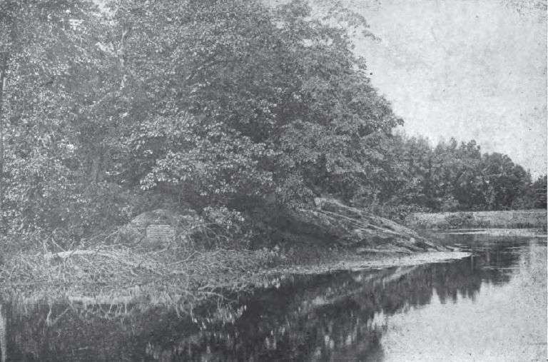 Egg Rock, where the Sudbury and Assabet rivers form the Concord, or Musketaquid, River