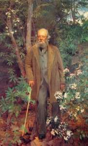 Frederick Law Olmsted by John Singer Sargent