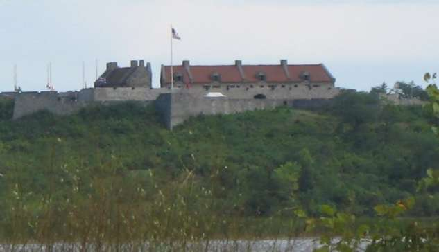 Fort Ticonderoga from Lake Champlain