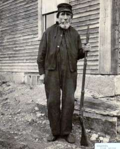 John Smith, first Boston Post Cane recipient in Grafton, N.H.
