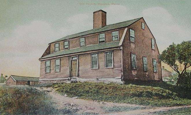 Burnha Tavern postcard