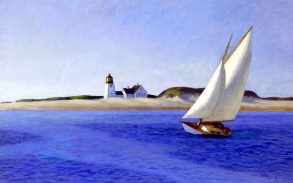 'The Long Leg' by Edward Hopper, courtesy Huntington Library, Art Collections and Botanical Gardens.