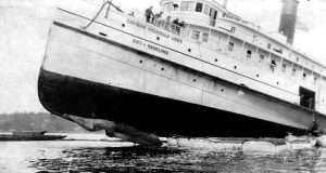 City of Rockland Run Aground in 1904