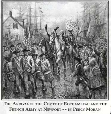 rochambeau arrives