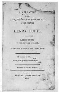 Henry tufts autobiography