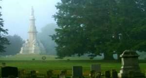 Gettysburg cemetery by the National Park Service