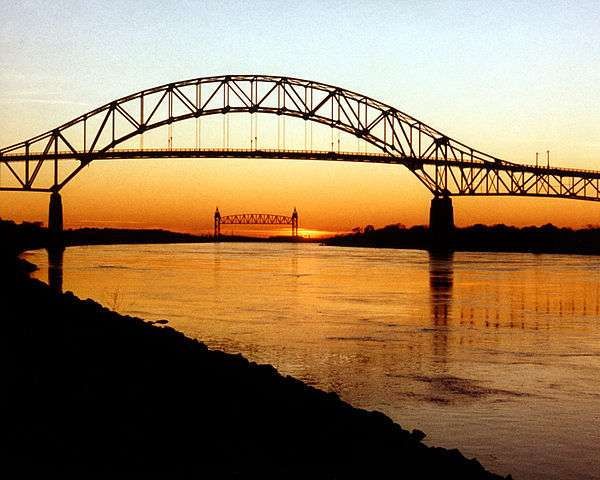 The Sagamore Bridge.