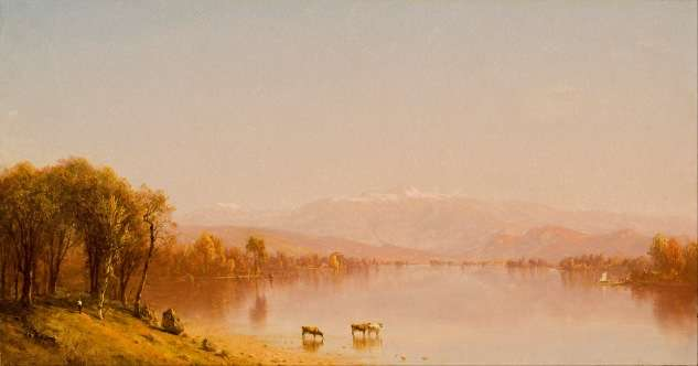 Indian Summer in the White Mountains by Sanford Gifford