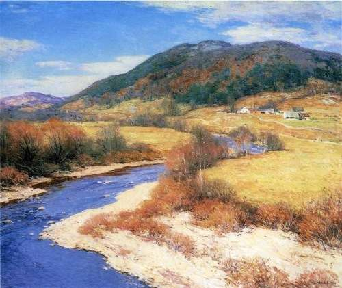 Indian Summer, Vermont, by Willard Metcalf