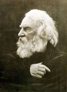Henry Wadsworth Longfellow in 1868