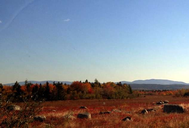 Blue Hill, Maine, in October