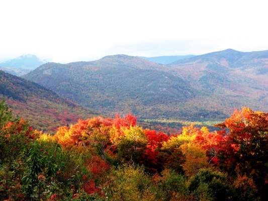 New Hampshire fall folilage