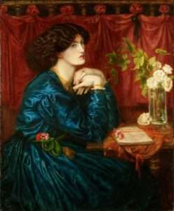 annie-jenness-miller-Dante_Gabriel_Rossetti_-_Jane_Morris_(The_Blue_Silk_Dress)