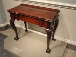 A John Goddard table, courtesy National Gallery of Art