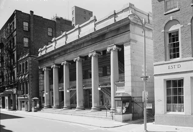 Westminster Arcade. Photo courtesy Library of Congress.