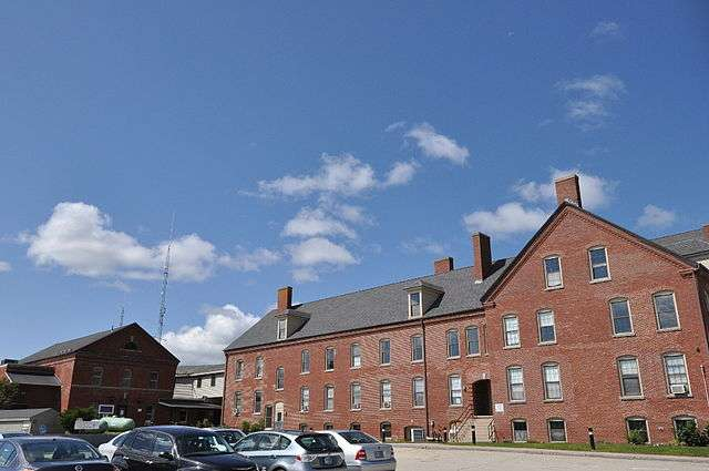 The Strafford County poorhouse