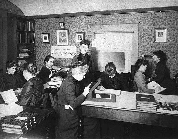 Pickering's Harem at the Harvard College Observatory