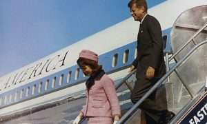 air force one jack and jackie