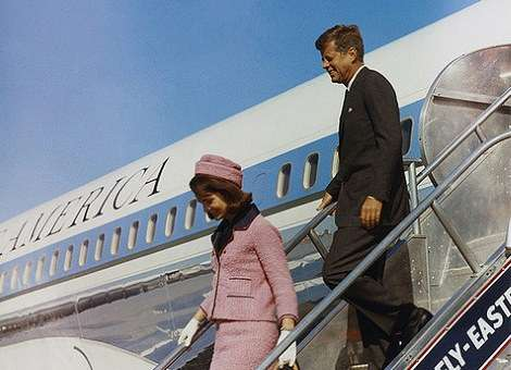 Jfk Redesigns Air Force One New England Historical Society