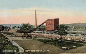 The East Millinocket mill