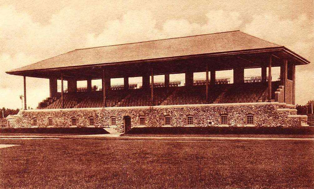 Hubbard Grandstand at Whittier FIeld