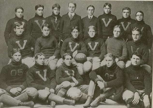 An early University of Vermont football team