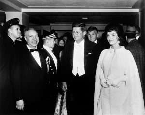 The Kennedy pre-inaugural concert
