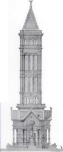 Story's design for the Washington Monument.