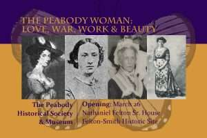 Women of Peabody Exhibit Postcard