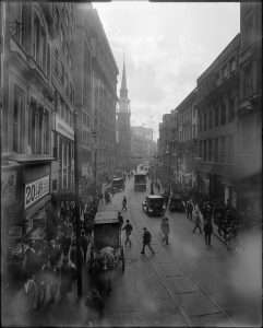 Washington Street in 1920