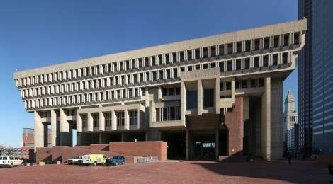 brutalist Boston_city_hall