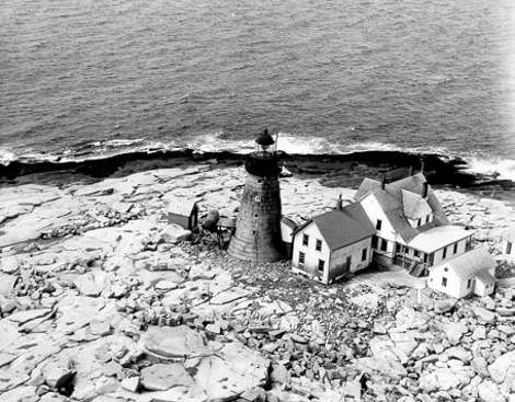 Mount Desert Light in 1892