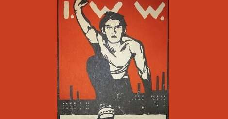IWW Poster from Paterson, N.J.