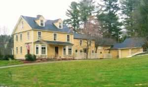 Babe Ruth's former house in Sudbury.